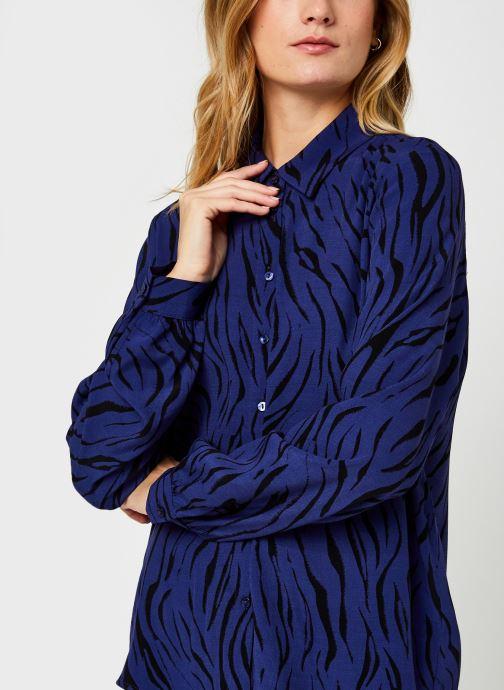 Vêtements Vila Visimozebba Shirt Bleu vue face