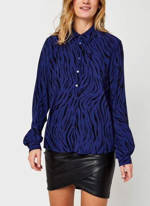 Vêtements Vila Visimozebba Shirt Bleu vue droite