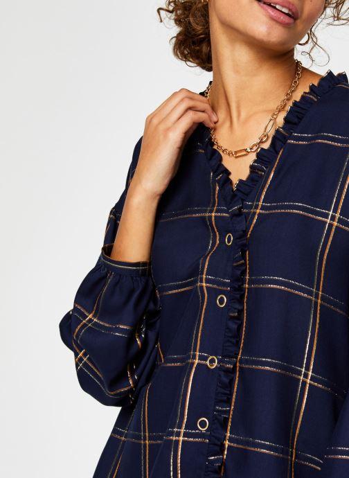 Kleding Vila Vitrissy Shirt Blauw voorkant