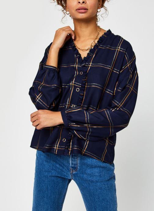 Kleding Vila Vitrissy Shirt Blauw rechts