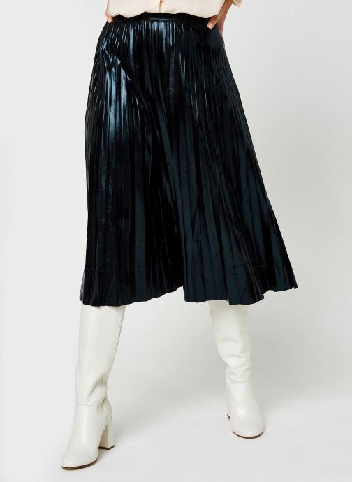 Jupe midi Viflowsy Coated Midi Skirt