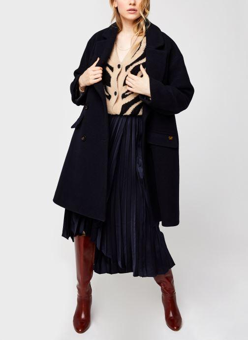 Vêtements Vila Vifeami Knit Animal Cardigan Noir vue bas / vue portée sac
