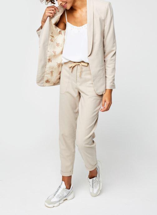 Vêtements Vila Vitwiggy New Blazer Beige vue bas / vue portée sac