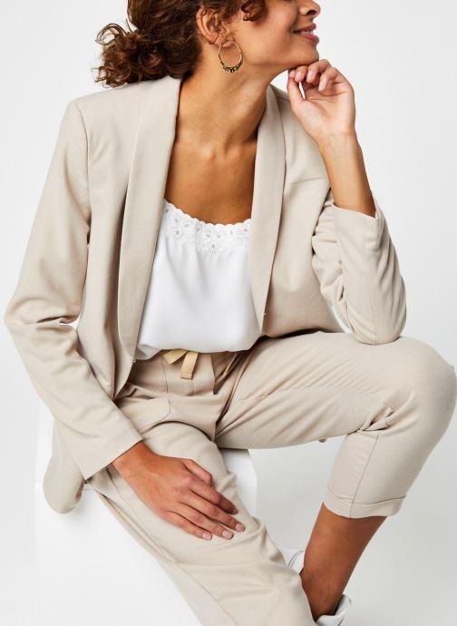Vêtements Vila Vitwiggy New Blazer Beige vue détail/paire