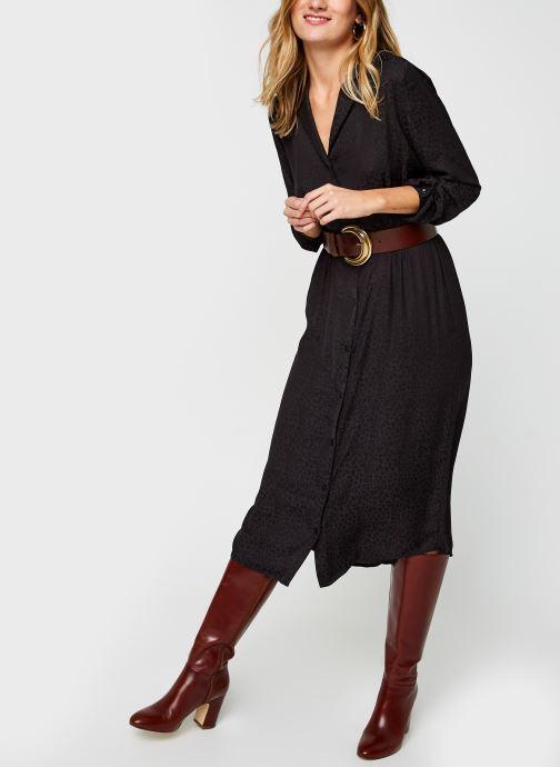 Vêtements Vila Vinecoli Shirt Dress Noir vue bas / vue portée sac