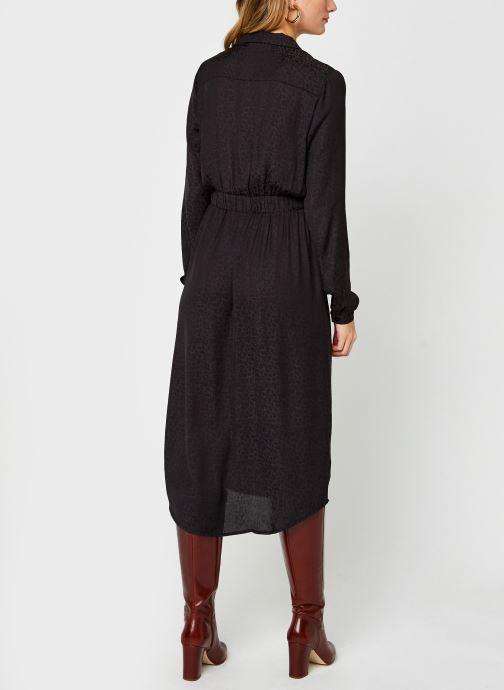 Vêtements Vila Vinecoli Shirt Dress Noir vue portées chaussures