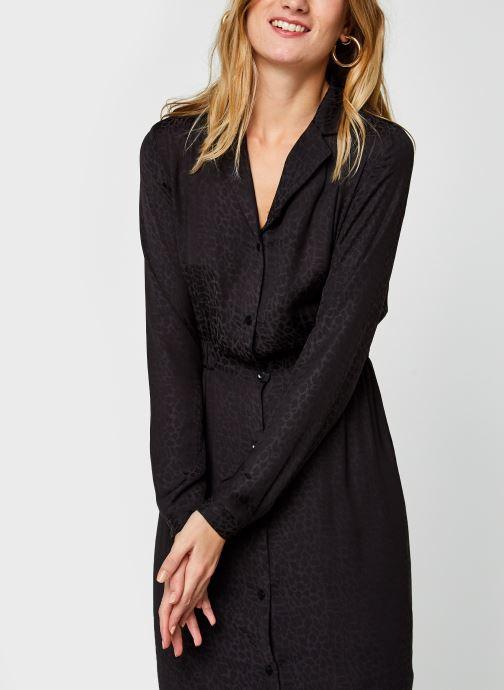 Vêtements Vila Vinecoli Shirt Dress Noir vue droite