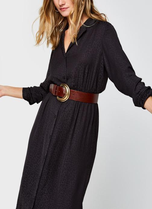 Vêtements Vila Vinecoli Shirt Dress Noir vue détail/paire