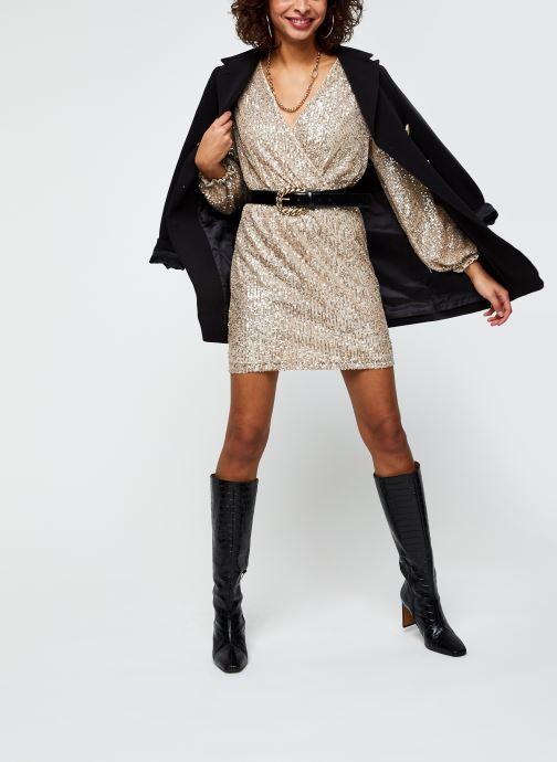 Vêtements Vila Vilyc Short Dress Or et bronze vue bas / vue portée sac