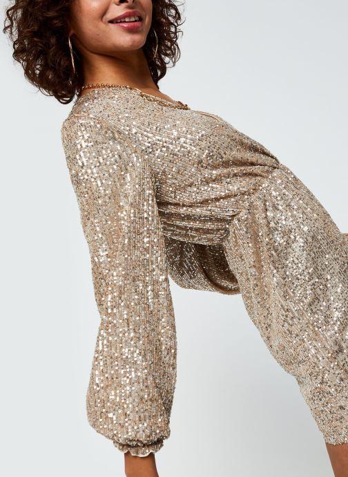 Vêtements Vila Vilyc Short Dress Or et bronze vue détail/paire