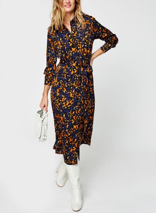 Vêtements Vila Vijolie Lenona Shirt Dress Bleu vue bas / vue portée sac