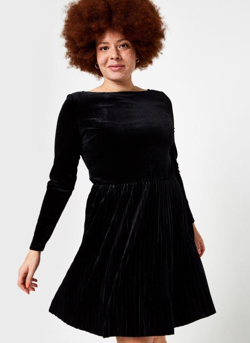 Ropa Vila Vioelle Boatneck Sleeve Dress Negro vista de detalle / par
