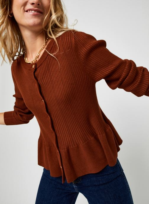 Kleding Accessoires Viplano Knit Cardigan