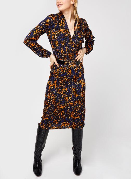 Vêtements Vila Vijolie Lenona Shirt Bleu vue bas / vue portée sac