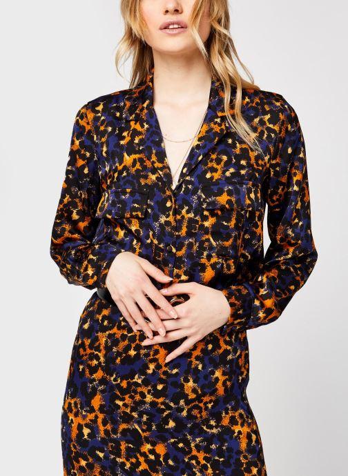 Vêtements Vila Vijolie Lenona Shirt Bleu vue détail/paire