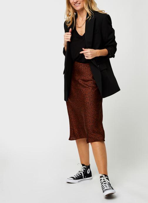Vêtements Vila Vikanaitaia Midi Skirt Marron vue bas / vue portée sac