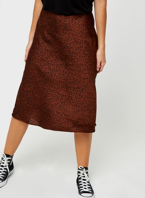 Vêtements Vila Vikanaitaia Midi Skirt Marron vue détail/paire