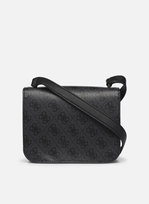 Handtassen Guess NOELLE MINI CROSSBODY FLAP Zwart voorkant