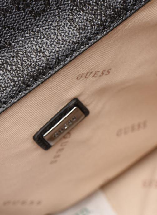 Handtassen Guess NOELLE MINI CROSSBODY FLAP Zwart achterkant