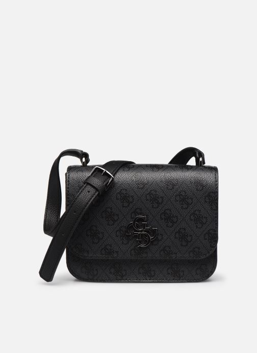 Handtassen Guess NOELLE MINI CROSSBODY FLAP Zwart detail