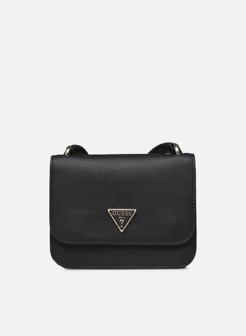 Handtaschen Guess NOELLE MINI CROSSBODY FLAP schwarz detaillierte ansicht/modell