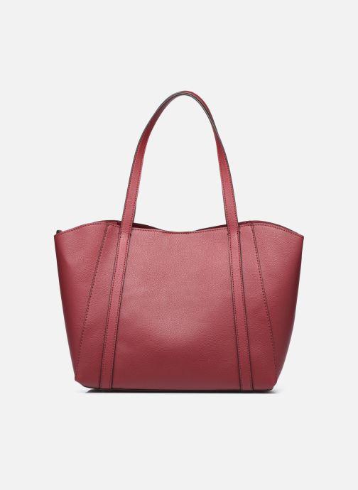 Handtaschen Guess NAYA TRAPTOTE weinrot ansicht von vorne