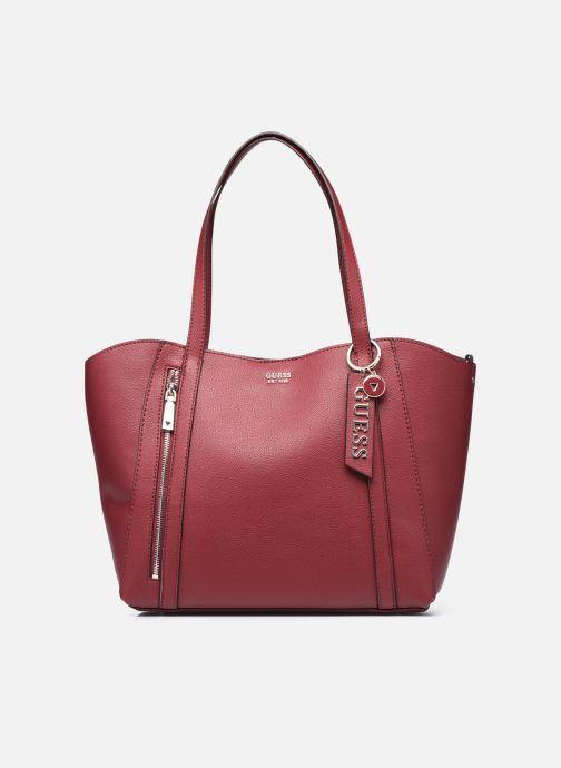 Handtaschen Guess NAYA TRAPTOTE weinrot detaillierte ansicht/modell