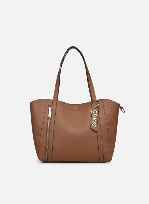 Handtaschen Guess NAYA TRAPTOTE braun detaillierte ansicht/modell