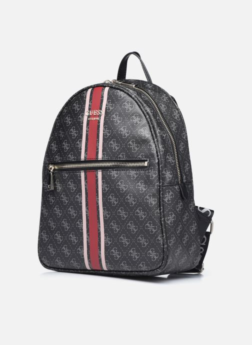 Zaini Guess VIKKY BACKPACK Nero modello indossato