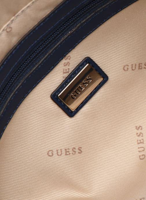 Borse Guess BRINKLEY SOCIETY SATCHER Azzurro immagine posteriore