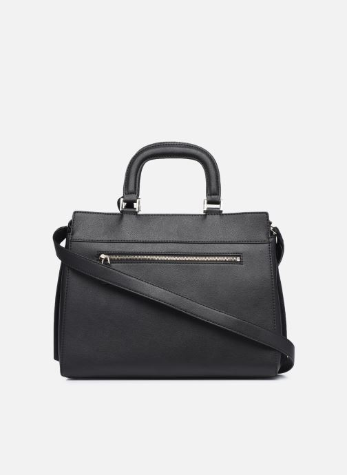 Borse Guess KATEY LUXURY SATCHEL Nero immagine frontale