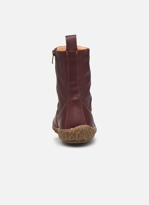 Bottines et boots El Naturalista Nido Ella N722 C AH20 Rouge vue droite