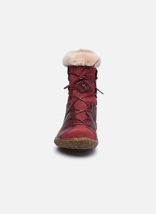 Bottines et boots El Naturalista Nido N5447 C AH20 Rouge vue portées chaussures
