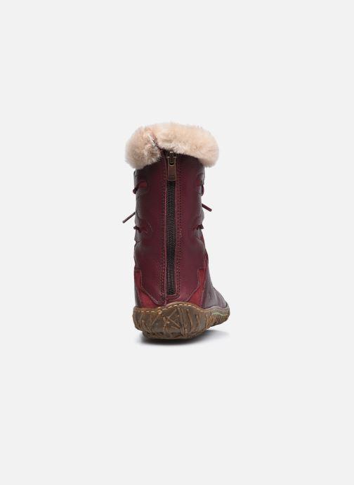 Bottines et boots El Naturalista Nido N5447 C AH20 Rouge vue droite