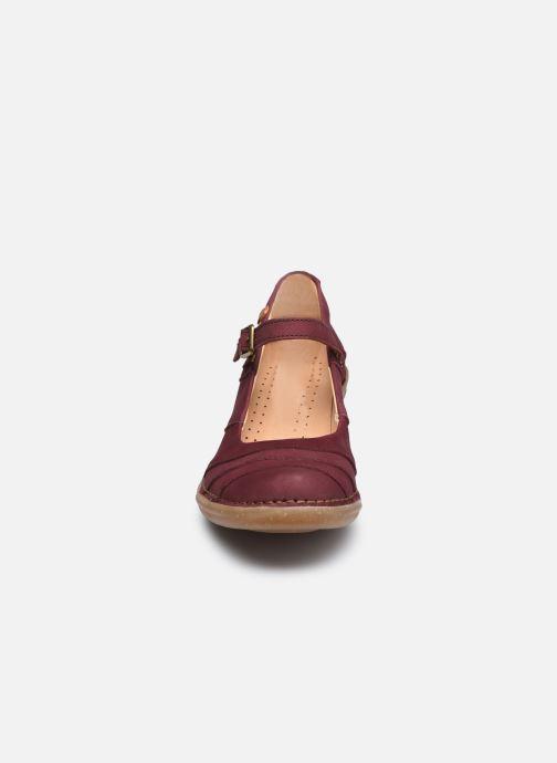 Zapatos de tacón El Naturalista Aqua N5327 C AH20 Rojo vista del modelo