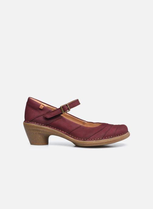 Zapatos de tacón El Naturalista Aqua N5327 C AH20 Rojo vistra trasera