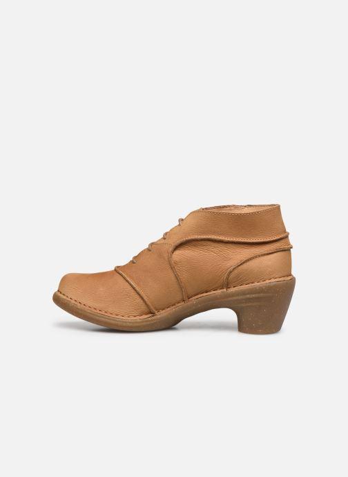 Zapatos con cordones El Naturalista Aqua N5336 C AH20 Marrón vista de frente