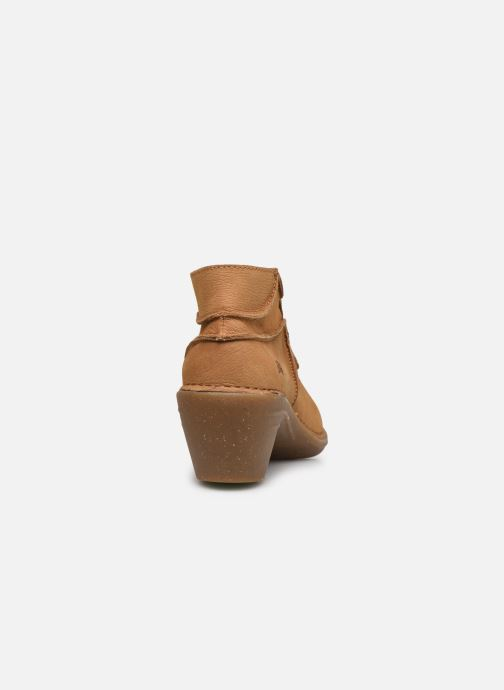 Zapatos con cordones El Naturalista Aqua N5336 C AH20 Marrón vista lateral derecha
