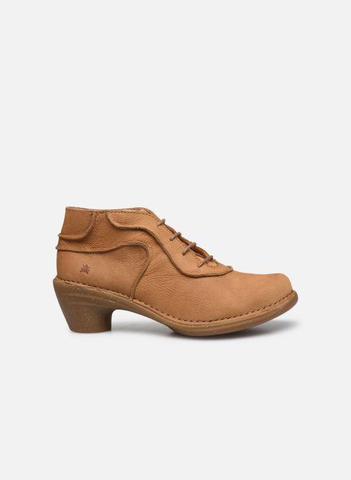 Zapatos con cordones El Naturalista Aqua N5336 C AH20 Marrón vistra trasera