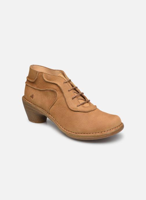 Zapatos con cordones El Naturalista Aqua N5336 C AH20 Marrón vista de detalle / par