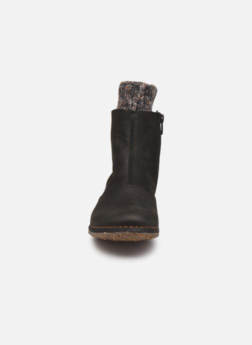 Bottines et boots El Naturalista Angkor N5462 C AH20 Noir vue portées chaussures