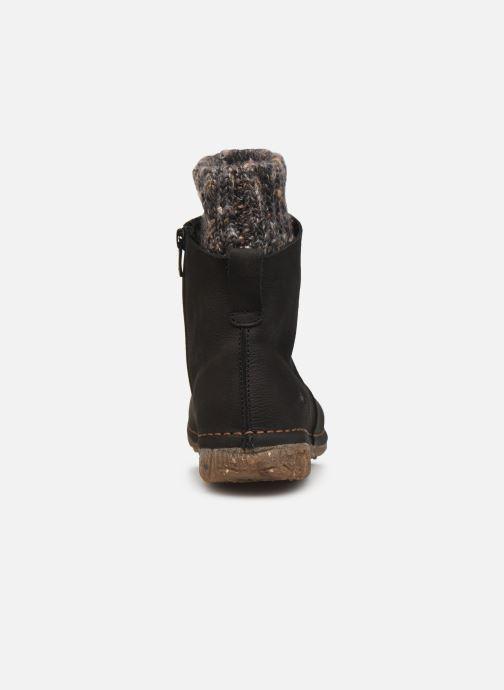 Bottines et boots El Naturalista Angkor N5462 C AH20 Noir vue droite