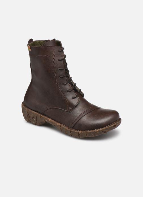 Boots en enkellaarsjes El Naturalista Yggdrasil NG57T C AH20 Bruin detail