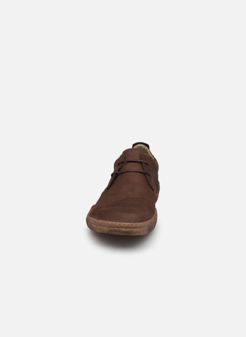 Chaussures à lacets El Naturalista Turtle N5080 C AH20 Marron vue portées chaussures