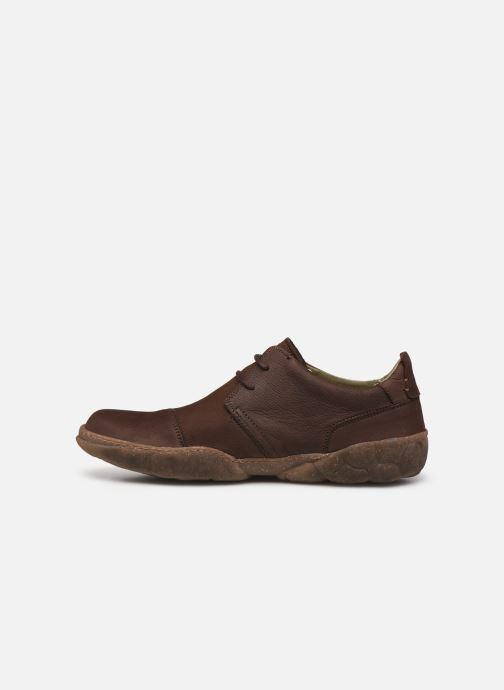 Chaussures à lacets El Naturalista Turtle N5080 C AH20 Marron vue face