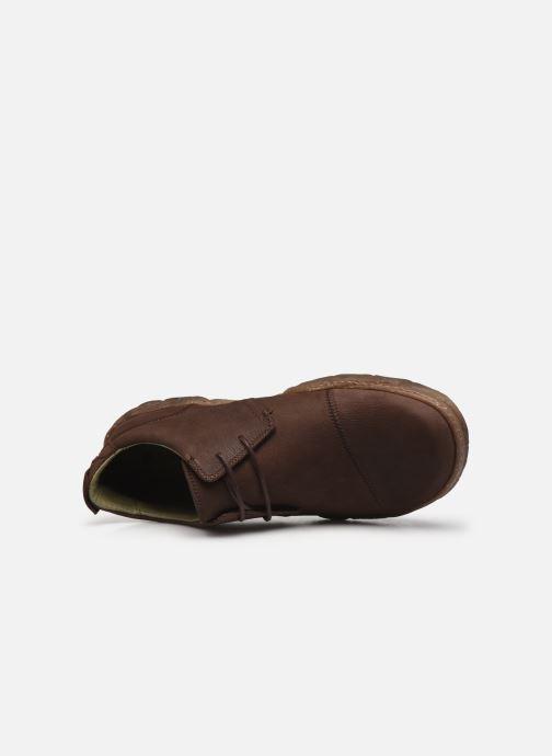 Chaussures à lacets El Naturalista Turtle N5080 C AH20 Marron vue gauche