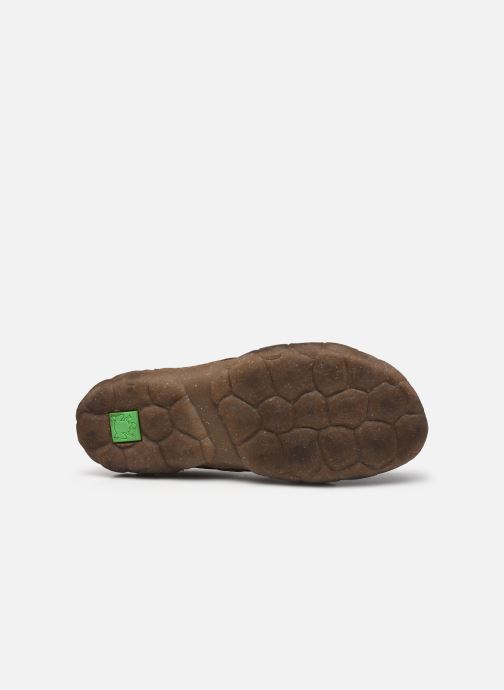 Chaussures à lacets El Naturalista Turtle N5080 C AH20 Marron vue haut