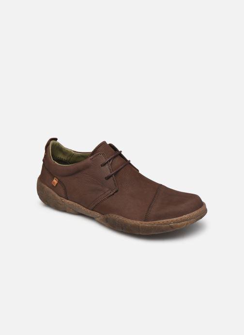Chaussures à lacets El Naturalista Turtle N5080 C AH20 Marron vue détail/paire