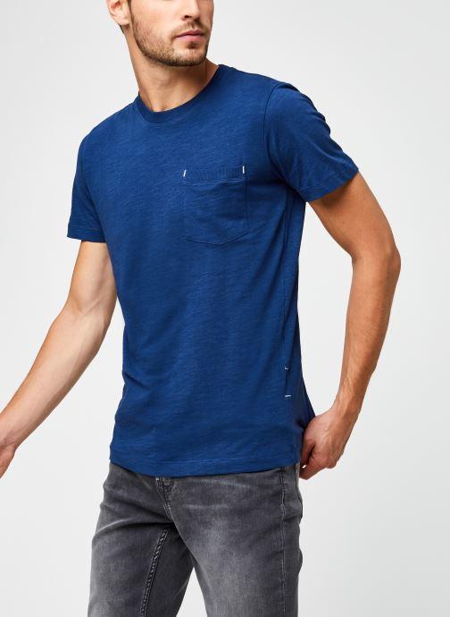 Vêtements Accessoires Slhjared Slub Ss O-Neck Tee W