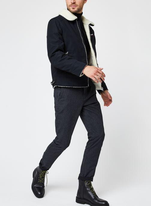 Vêtements Selected Homme Slhslim-Arval Pants W Noos Gris vue bas / vue portée sac